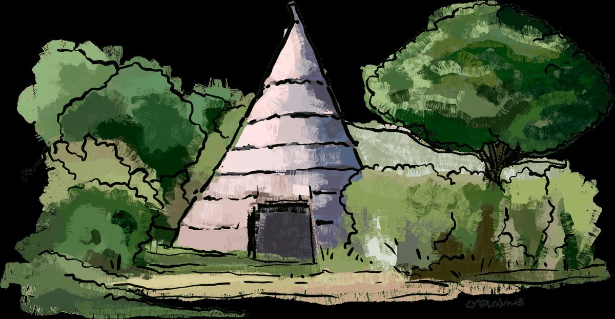 Ilustración cabañeros