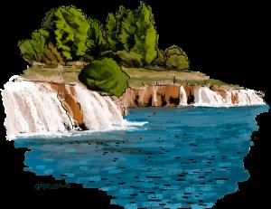 Ilustración Lagunas de Ruidera